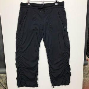 Lululemon Dance Studio Pants Black 12/14 Lined
